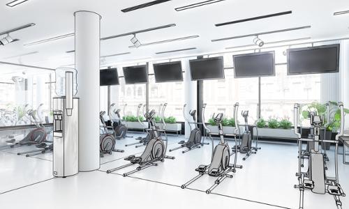 digital signage fitness