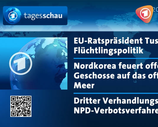 DSSHOW - Digital Signage Software - Tagesschau